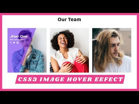 Awesome Image Hover Effect with Overlay Animation | CSS3 Animation Snippets