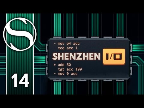 TAG, YOU'RE IT 4 - Let's Play Shenzhen I/O / Shenzhen IO Gameplay Part 14