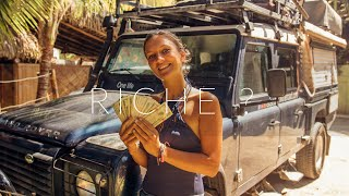 # 33 // Sommes-nous riches ? // Comment-on paye notre voyage // vlog famille voyage
