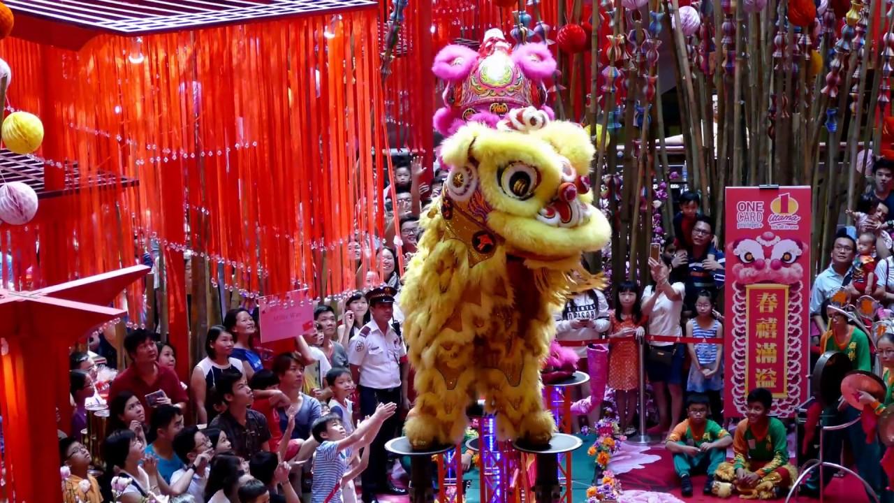 Tarian singa China Selatan