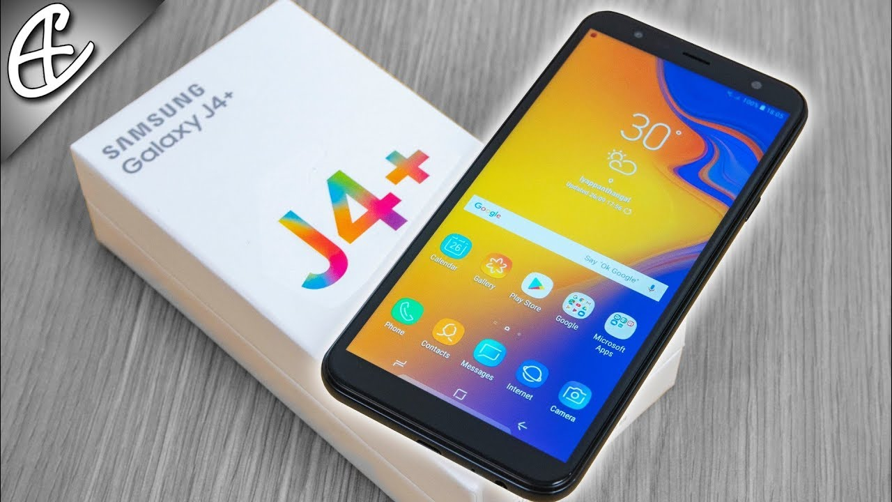 Samsung Galaxy J4 Plus J4 Glass Build 11k Unboxing Hands