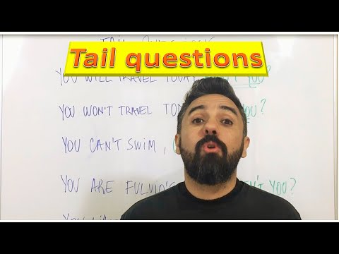 "Como usar as "" Tail / Tag Questions"""
