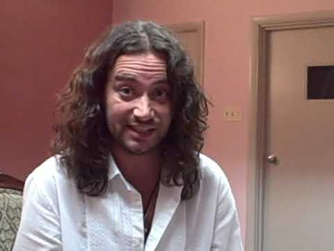 Interview with Constantine Maroulis at Baltimore Greek Folk Festival 2009