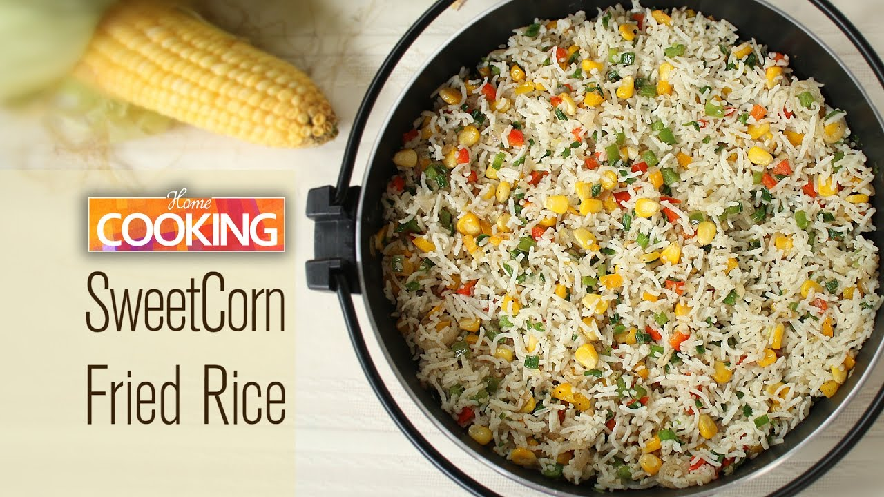Sweet corn fried rice ventuno home cooking youtube ccuart Choice Image