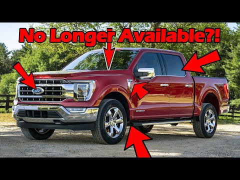 5 Things No Longer Available On The 2021 F150!