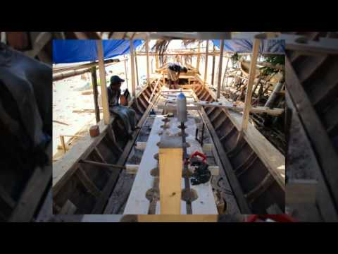 Boat Building - the construction of our new dive boat