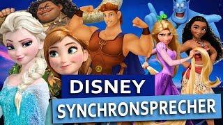 Cover images Die STIMMEN bekannter DISNEY Figuren - Disney Synchronsprecher - Behind the Voice