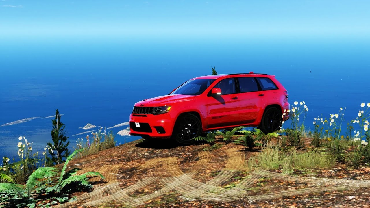 Gta V Jeep Grand Cherokee Srt 8 Trackhawk Walk Around Hd Mvga Visualv Nvr Youtube