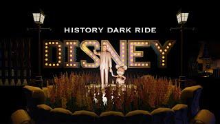 """【Disney】プラネットコースター ダークライド 「ディズニー・ヒストリー」 1938-1994 / """"Disney History"""" Dark ride at Planet Coaster"""