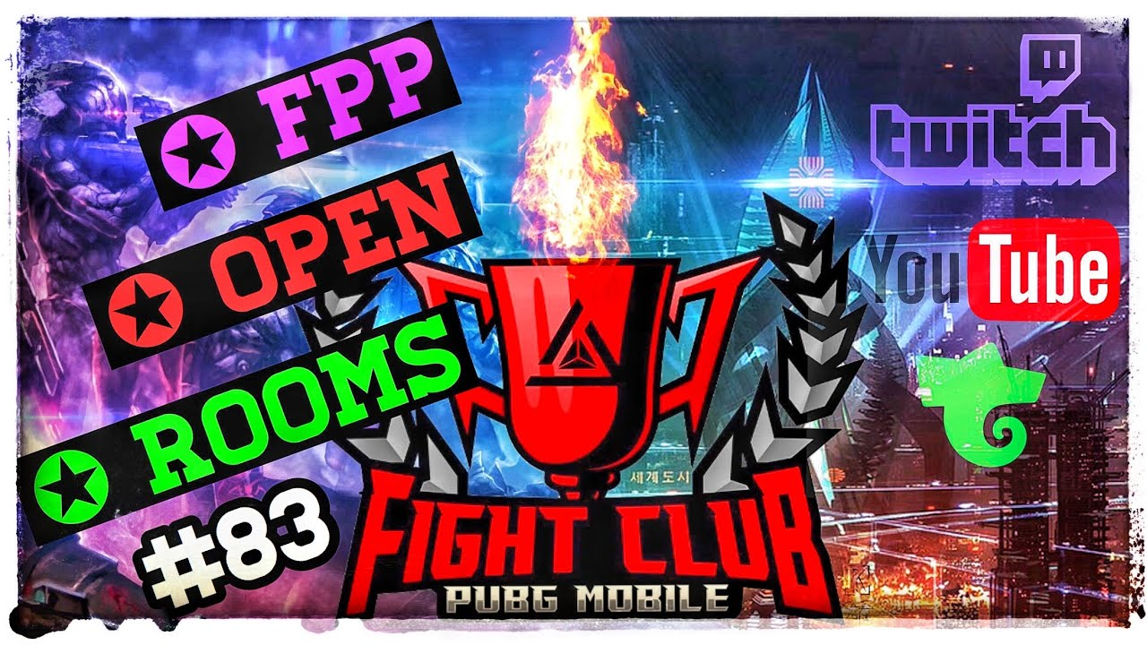 Pubg Mobile Open Custom Rooms for Everyone | Europe Server | English/ German