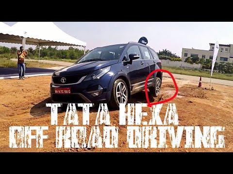 Tata Hexa Off Road Driving