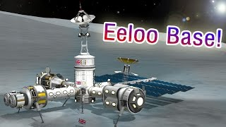 KSP - Building a Single Launch Eeloo Base!