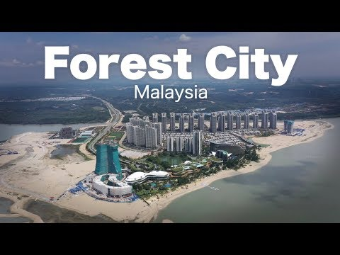 Forest City - Malaysia's Biggest Project - Progress as Feb-2019