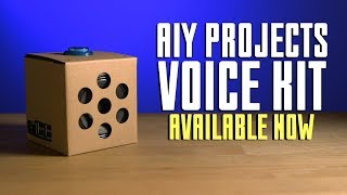Google AIY Projects Voice Kit - Available Now!