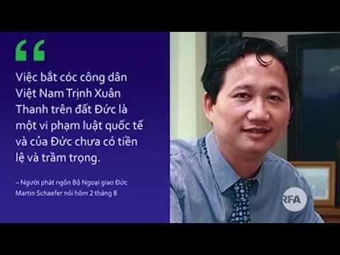 Đức lên án cơ quan tình báo và đại sứ quán HN và trục xuất đại sứ VN sau vụ bắt cóc Trịnh Xuân Thanh