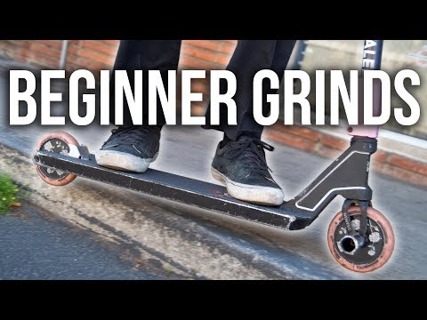 Top 3 EASIEST Grinds To Learn - Beginner Tutorial │ The Vault Pro Scooters