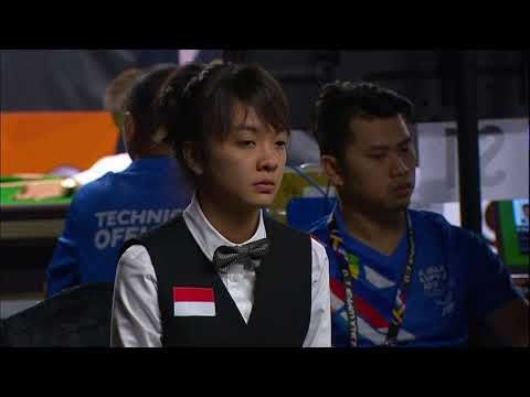 KL2017 29th SEA Games | Billiards & Snooker - Women's Singles 9 Ball Pool PRE-QF - INA 🇮🇩 vs VIE 🇻🇳