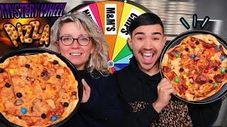 MYSTERY WHEEL OF PIZZA CHALLENGE ?!! JustJonathan