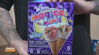 Ice Creamed My Pants - Wonka Magical Minis Rainbow Nerds Dessert Cones