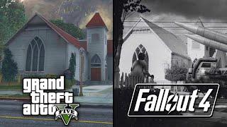 Fallout 4 Easter Eggs - GTA 5 IN FALLOUT 4? (Fallout 4 Secrets & Easter Eggs)