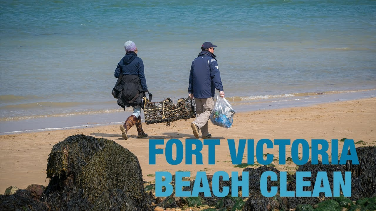 Fort Victoria Beach Clean - Isle of Wight