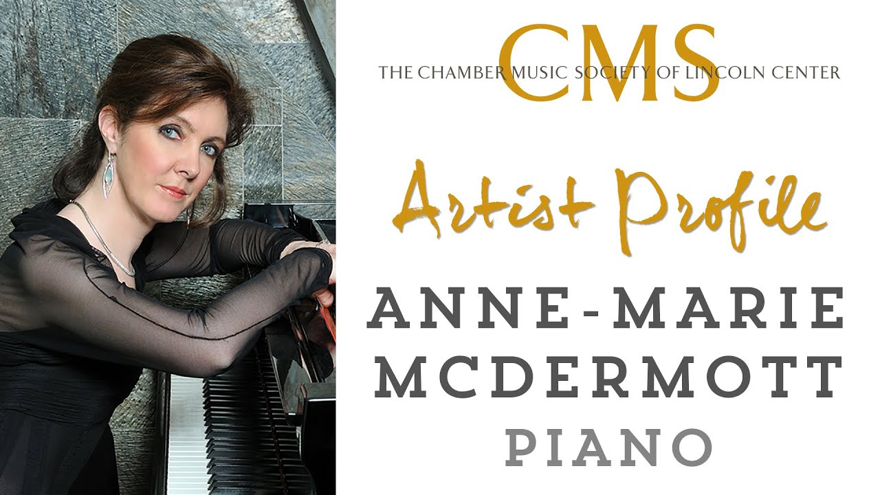 Anne-Marie McDermott, piano - March 2012 CMS Artist Profile