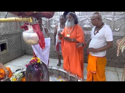 Vishwaguruji performs Puja for World Peace in Mahakaleshwar Temple Ujjain