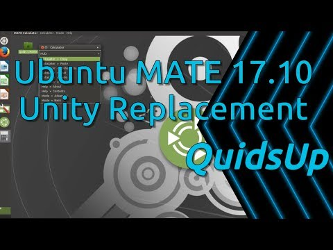 Ubuntu MATE 17.10 Review - Easy Unity Replacement