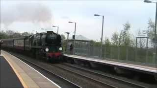 34046 'Braunton' on The Cathedrals Express (23/04/14) Thumbnail