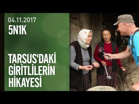 Tarsus'da yaşayan Giritlilerin hikayesi - Yeşil Doğa 04.11.2017 Cumartesi