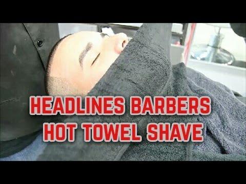 Headlines Barber Shops Signature Hot Towel Shave   Tampa Promo