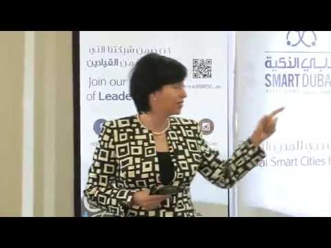 "Event: ""Big Data"" by Olga Parra of IBM, Dubai Smart Cities Forum - session 2"