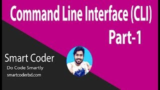 01.Command Line Interface (CLI) For Beginners in Bangla - Part 1