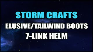 PATH of EXILE Crafting: 7 Link Helmet! - Tailwind / Elusive Boots - A Devestated Currency Tab