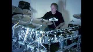 Budgie - Zoom Club - drums cover by Kris Kaczor.wmv