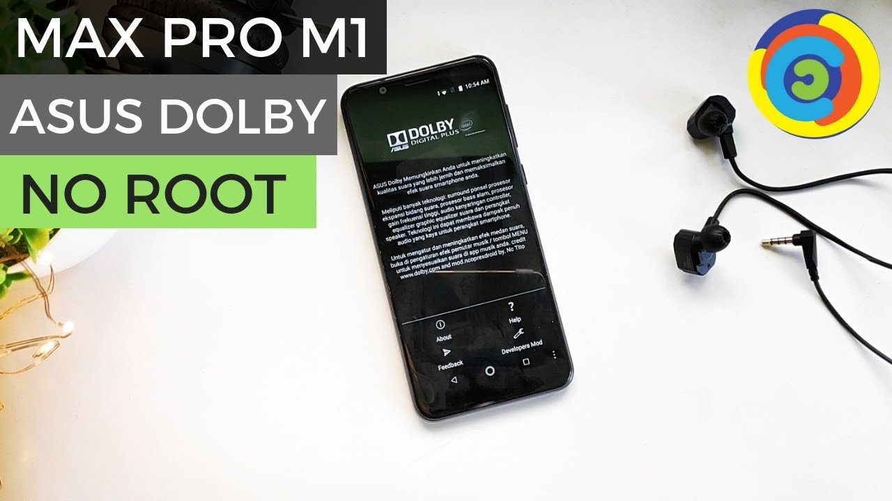 [NO ROOT] ASUS DOLBY on Zenfone Max Pro M1!