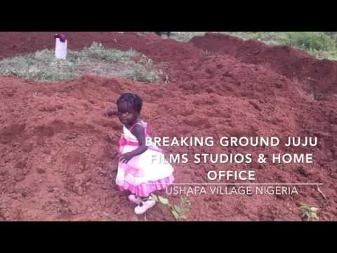 Breaking Ground on Juju Films Studios and Home Office