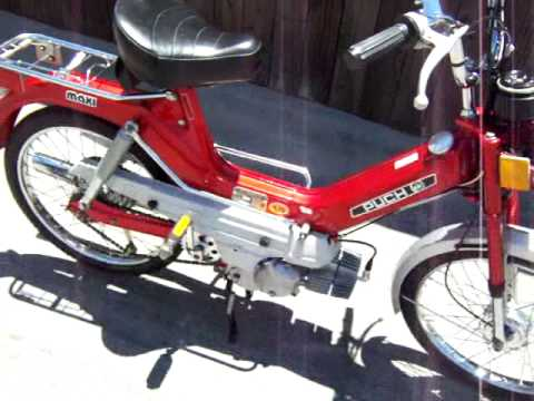 Puch Maxi moped, mint time capsule from 1977