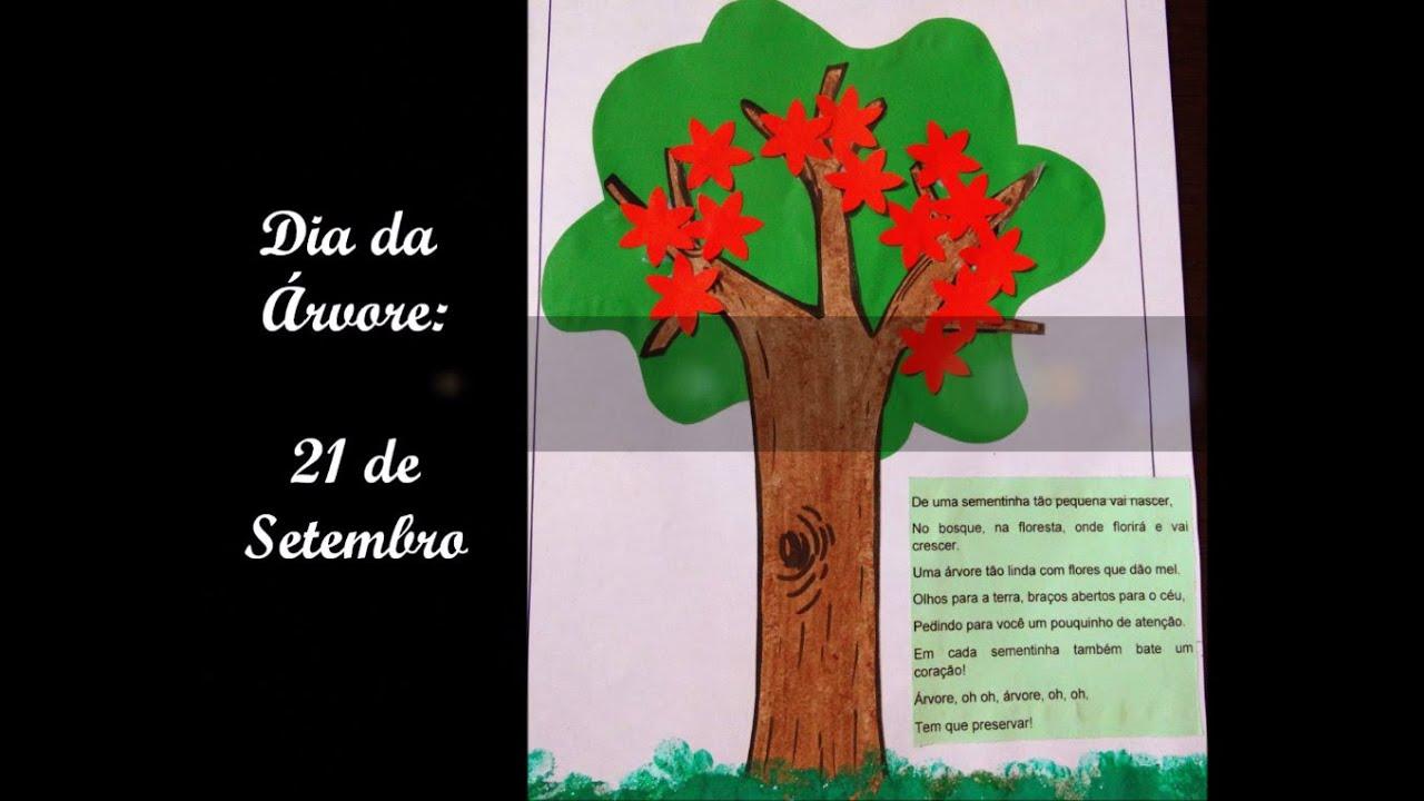 Populares Atividade Pedagógica Educação Infantil ♥ Dia da Árvore ♥ 21 de  WR27