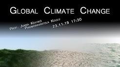 Science Cafe Turku - (Jukka Käyhkö) - Global Climate Change