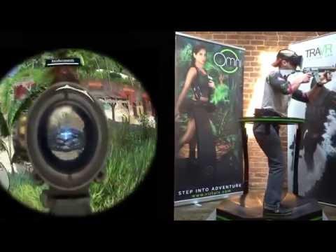 Дорожка Virtuix Omni с очками Oculus Rift обзор гемплея популярных игр