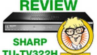 Sharp TU-TV322H Digital TV Recorder with Freeview Review