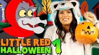 Little Red Riding Hood - Big Bad Wolf Returns - Part 1 | Story Time with Ms. Booksy at Cool School