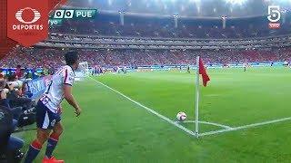 Autogol de Brayan Angulo | Chivas 1 - 0 Puebla | Clausura 2019 - J15 | Televisa Deportes