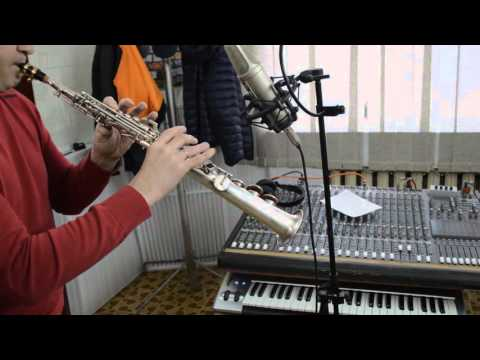 Soprano saxophone & mouthpiece Weltklang