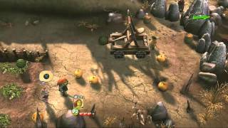 Shrek Forever After PS3 - Many Fruits In This Stage HD