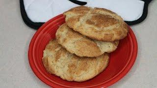 Disneyland's Massive Snickerdoodle Cookies