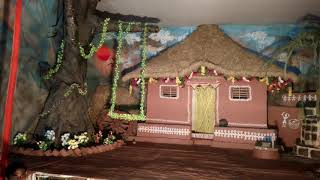 Rela Ravi decorated Mata Rani house....