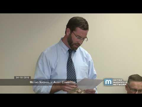 04/10/2018 Metro Nashville Audit Committee