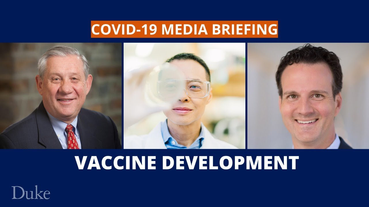 COVID-19 Media Briefing: Vaccine Development